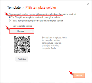 Cara mengaktifkan template blog responsive agar mobile friendly