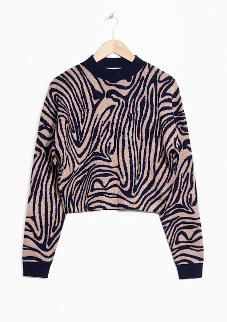 pink zebra jumper