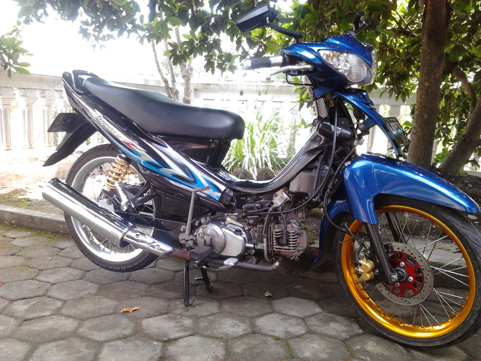 Top Modifikasi Motor Jupiter Z Terbaru