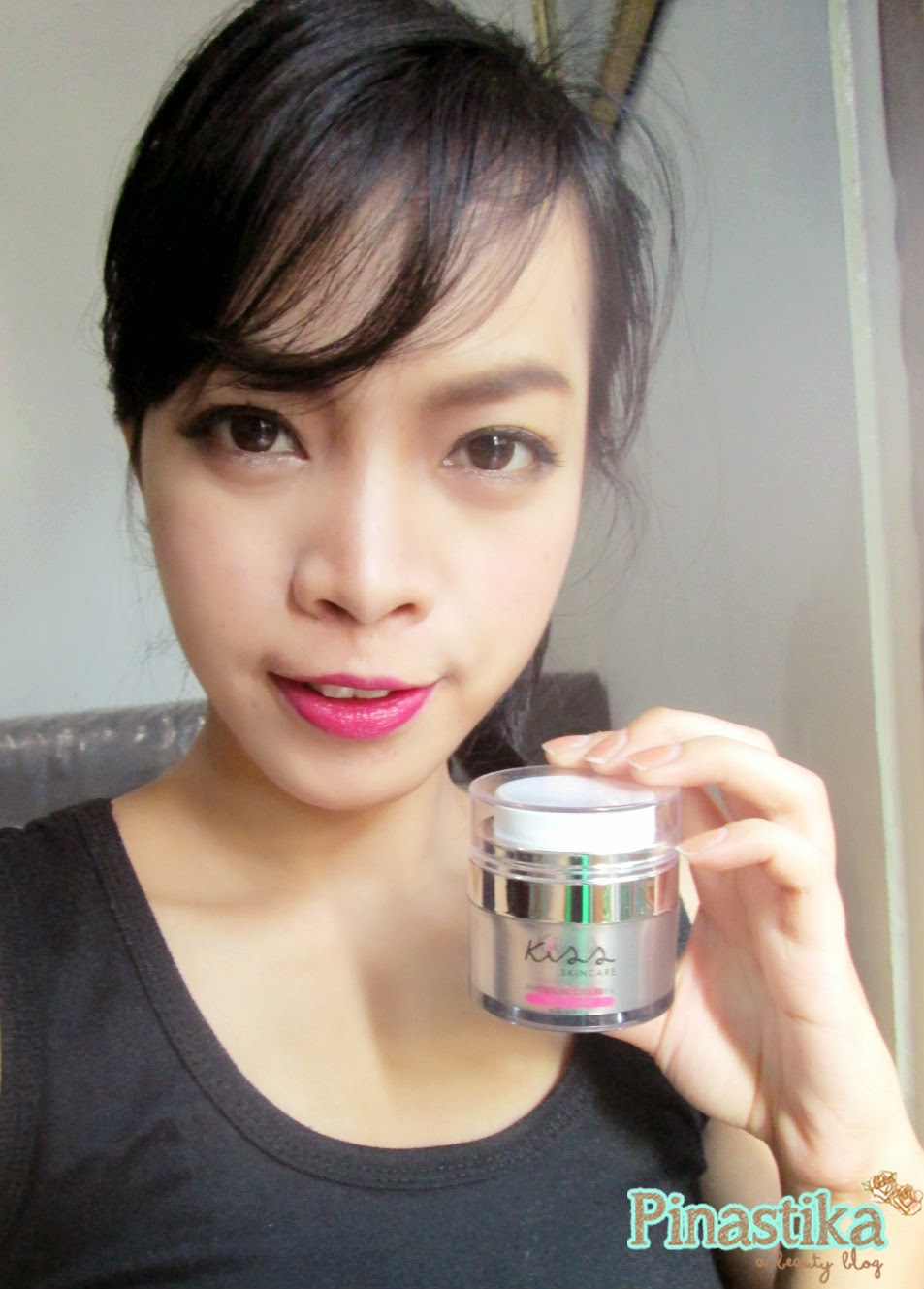 Review KISS Skincare Whitening Collagen Cream Mask Paman Crab