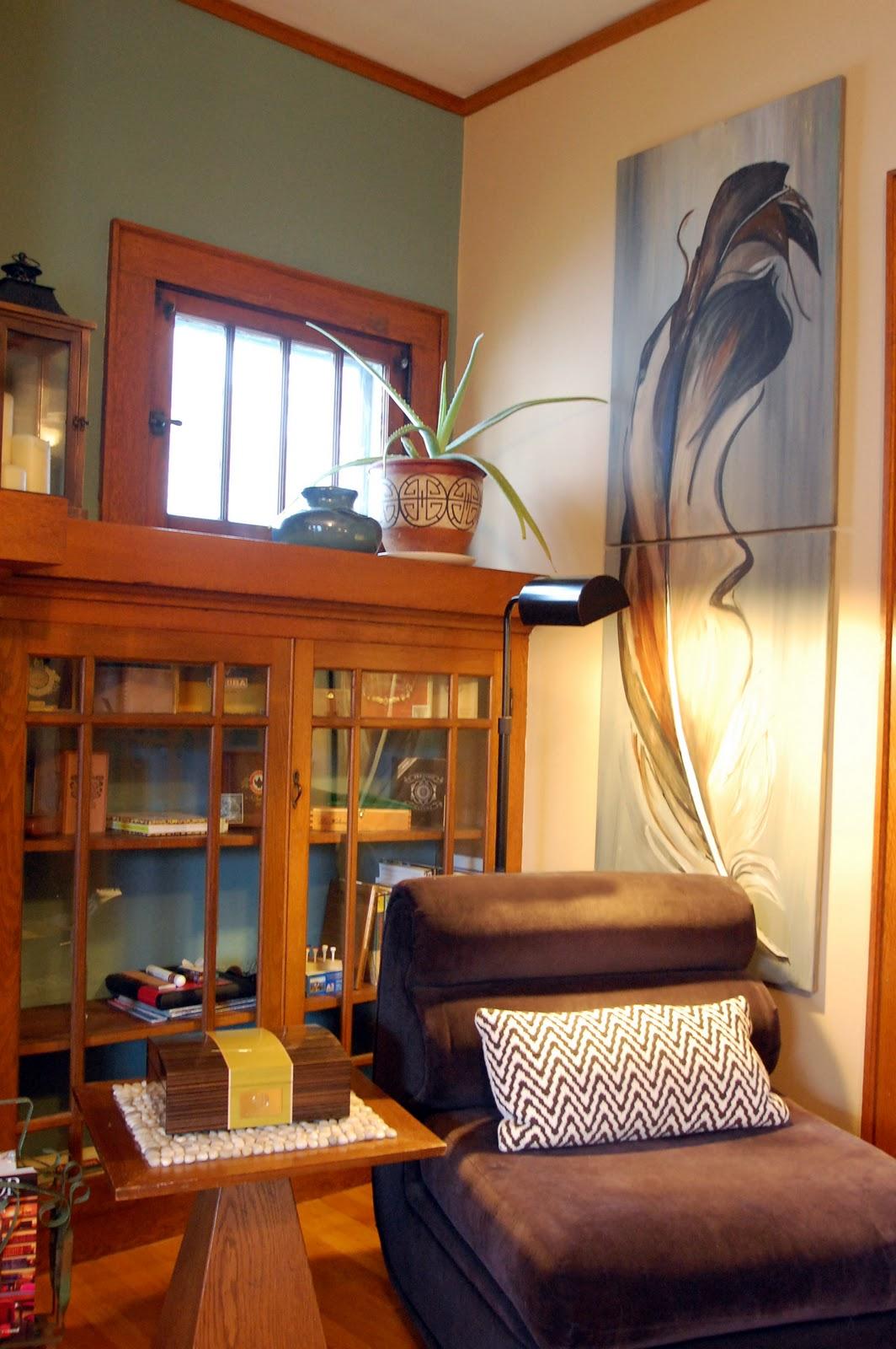 Artsy Living Room: * Happyroost*: Living Room Reveal