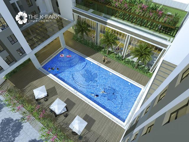 Bể bơi dự án The K Park