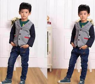 Contoh Celana Jeans Anak Laki-Laki Gaya Korea
