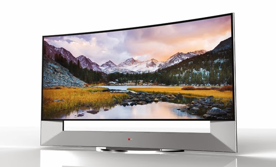 LG 105-inch 105UB9 CURVED ULTRA HD TV