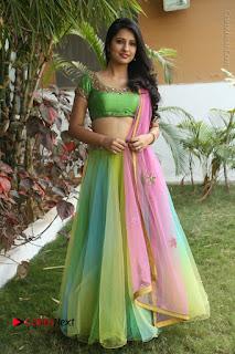 Actress Nikitha Bisht Stills in Lehenga Choli at Pochampally Ikat Art Mela Launch  0403.JPG