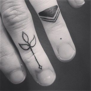 30 Amazing Attractive Finger Tattoo Styles-30
