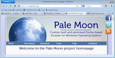 تحميل متصفح بال مونPale moon 2019 للكمبيوتر برابط مجانى