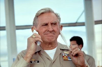 Hot Shots 1991 movie still Lloyd Bridges