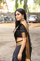 Poorna in Cute Backless Choli Saree Stunning Beauty at Avantika Movie platinum Disc Function ~  Exclusive 058.JPG