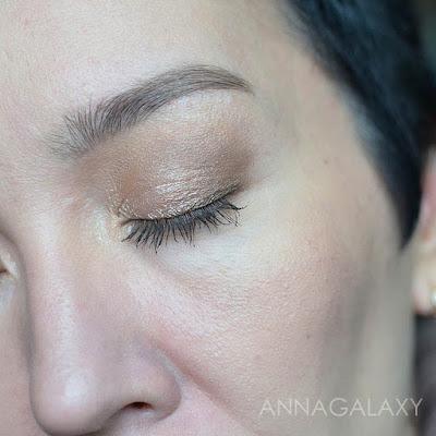 макияж с палеткой теней Rimmel Magnif'eyes Nude Edition Eye Palette