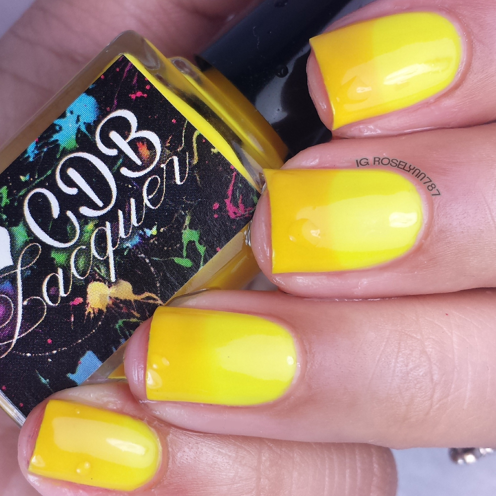 CDB Lacquer - Youthful Yellow