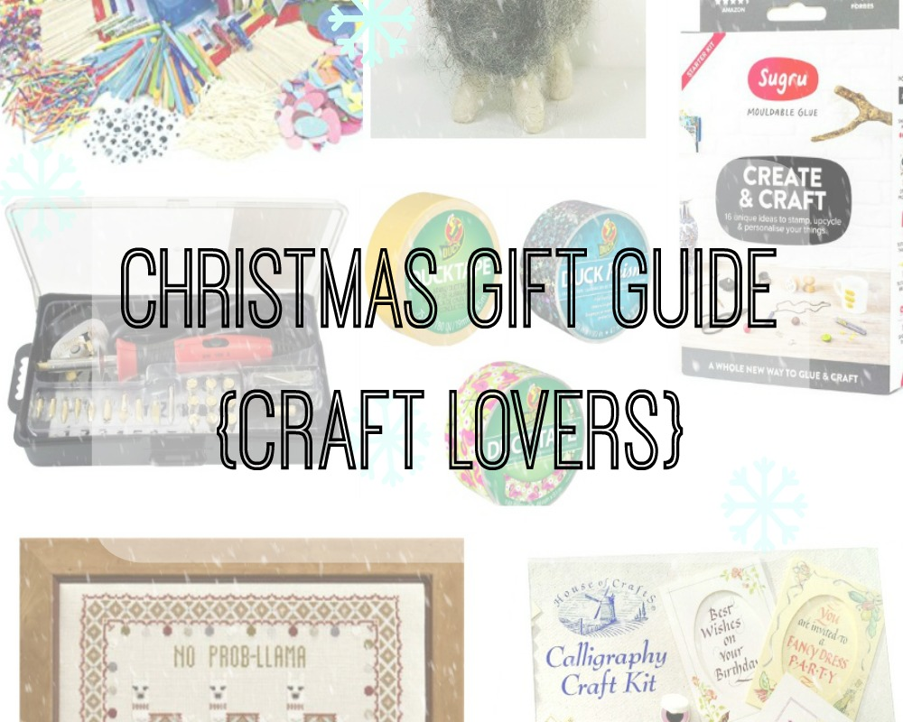 Christmas gift guide craft lovers whimsical mumblings for Gift ideas for craft lovers