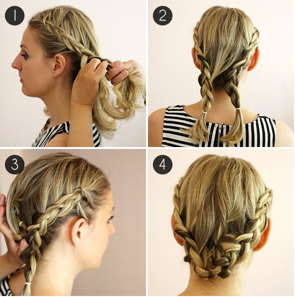 5 CUTE AND EASY HAIRSTYLES FOR SCHOOL WORK PATY  - 5 Peinados Faciles Y Bonitos