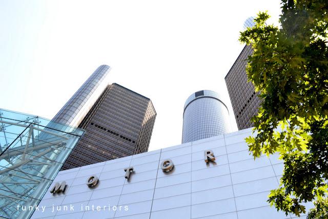 GMC headquarters in Detroit, Michigan