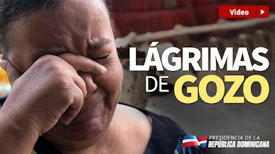 VÍDEO: Lágrimas de gozo