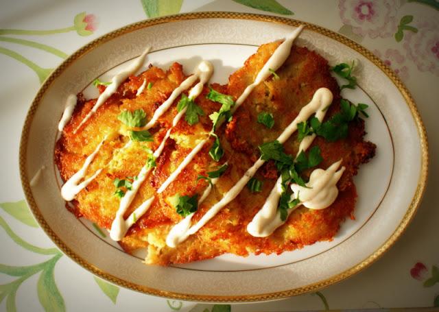 placki ziemniaczane, Magda Gessler,placki ziemniaczane Magdy Gessler,obiad po polsku,obiad,ziemniaki
