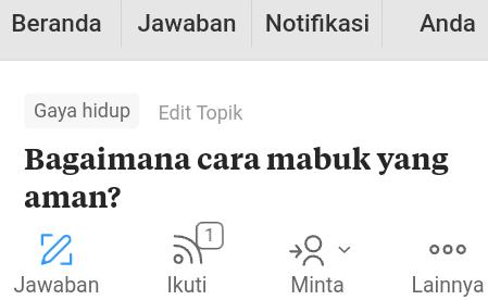 Pertanyaan pengguna Quora