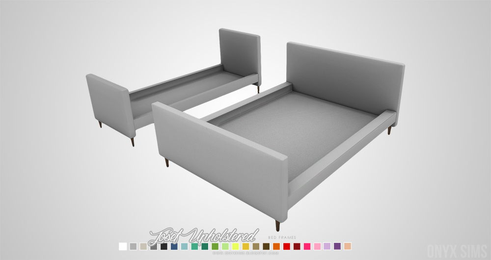 My Sims 4 Blog Josef And Scandinavian Bed Frames By