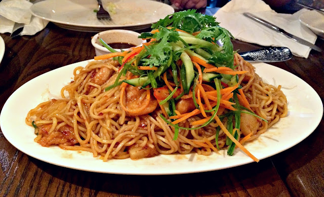 Caramel Chicken with Noodles from Pei Wei, Arabella, Kuwait