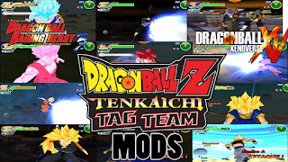 Download Dragon Ball Z Tenkaichi MOD Ultra v6 Iso PSP