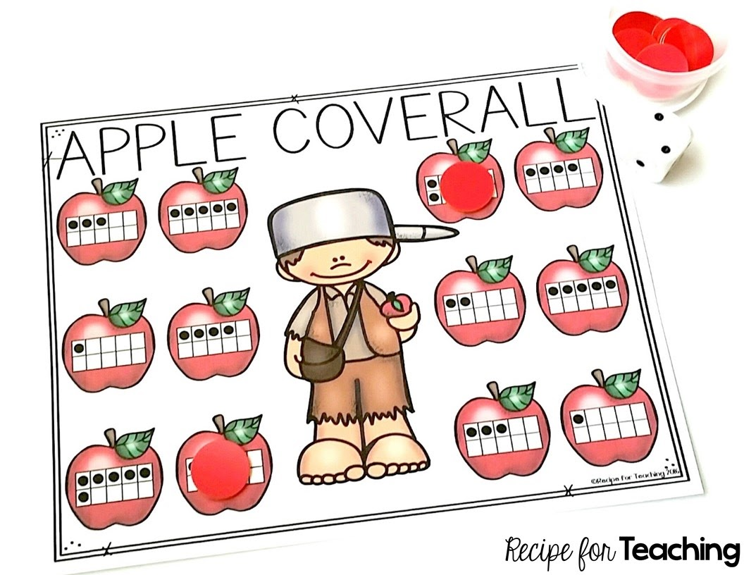 Johnny Appleseed Apple Coverall Games