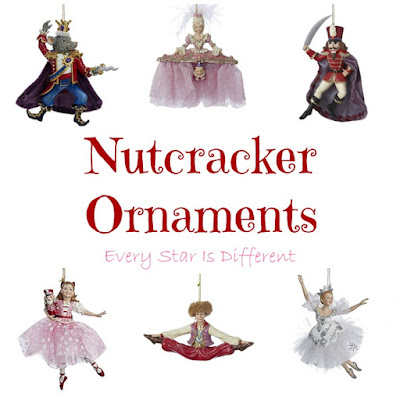 Nutcracker character ornaments