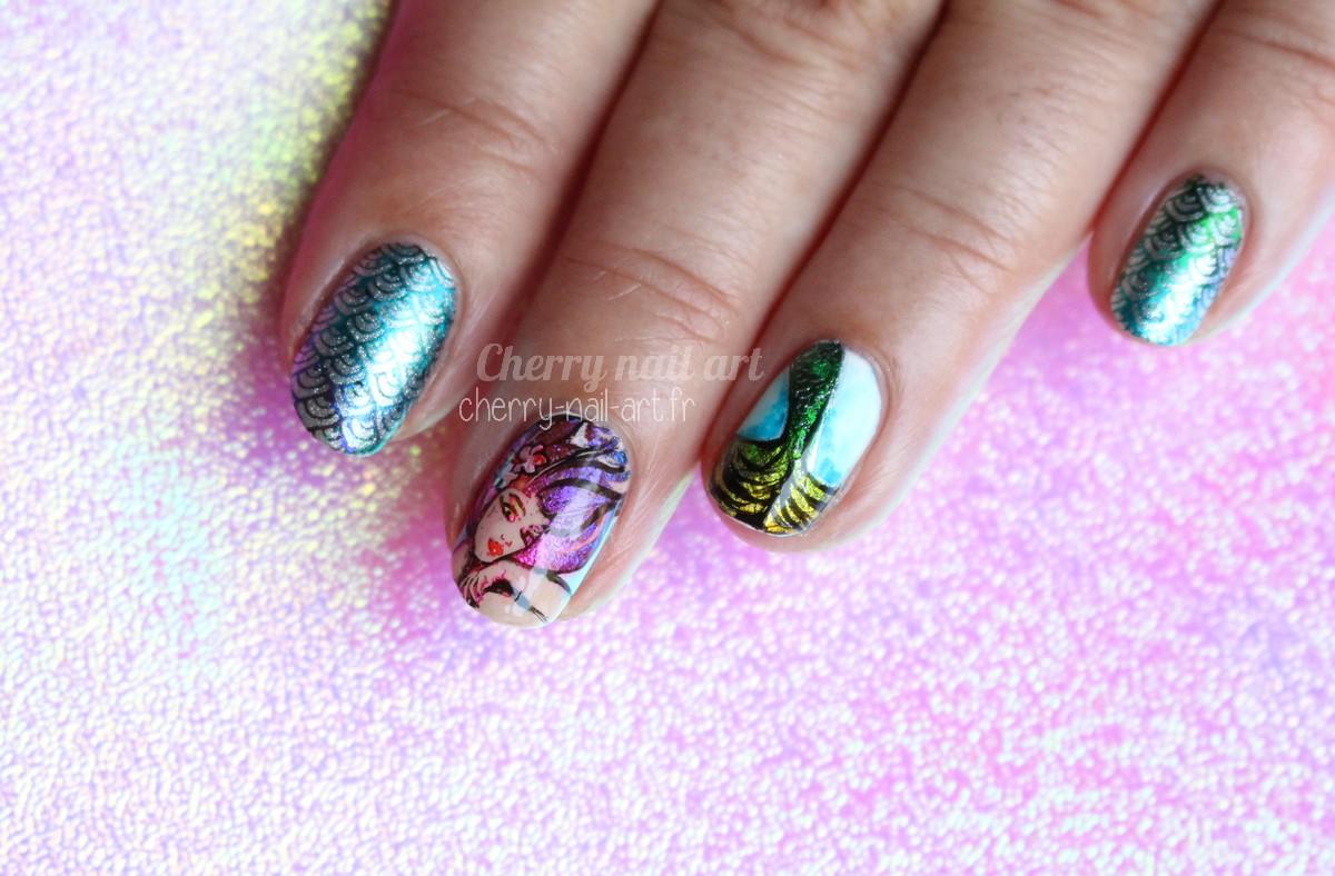 nail-art-sirène-stamping-foil-moyra