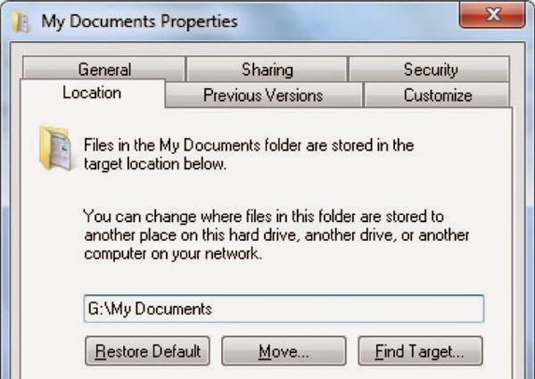 where is documents and settings my documents my
