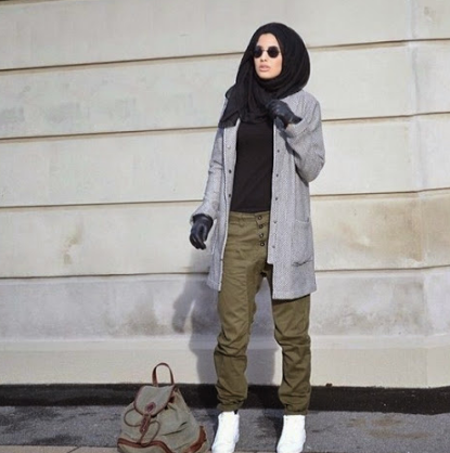 Gaya Hijab Style Anak Muda Terbaru 2016 Hijabers Muda