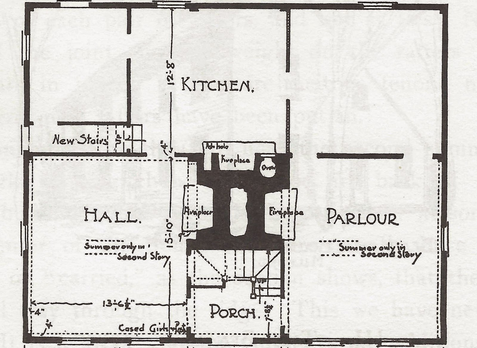 Antique houses of gloucester and beyond february 2015 for 18th century house plans