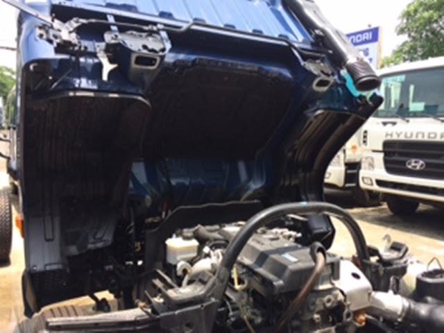 Hệ thống máy xe tải Hyundai HD78