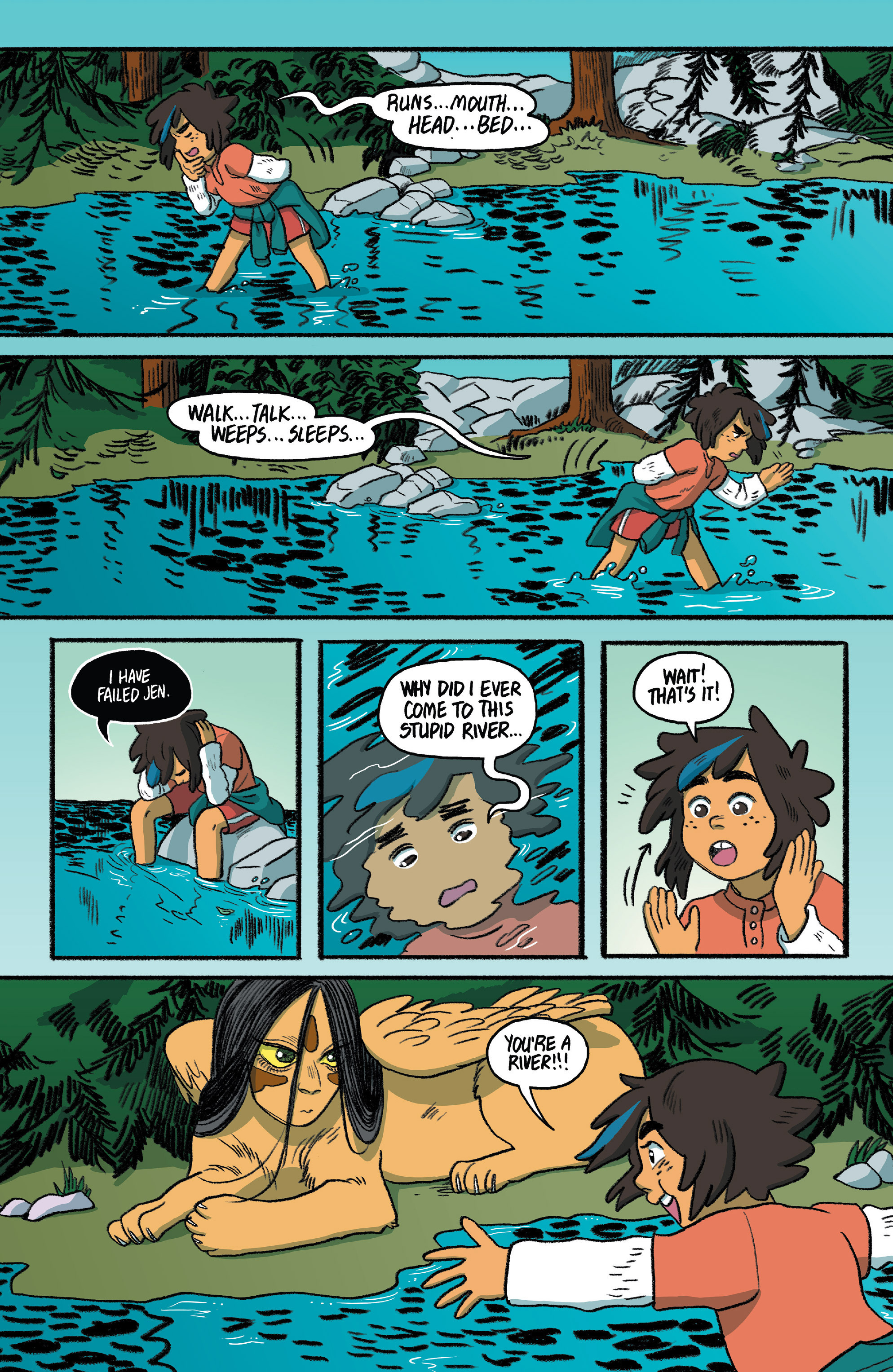Read online Lumberjanes: Makin' the Ghost of It 2016 Special comic -  Issue # Full - 39
