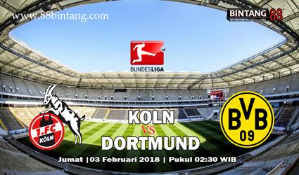 Prediksi Koln vs Borussia Dortmund 3 Februari 2018