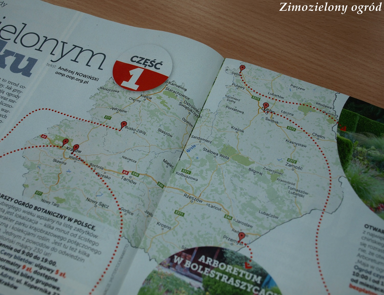 Zimozielony Ogród Ogrodowa Mapa Polski Pomysł Na Wyjazdy
