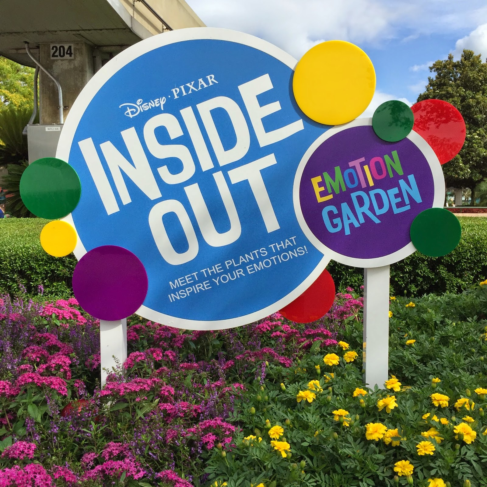 Plus the Magic: The Inside Out Emotion Garden