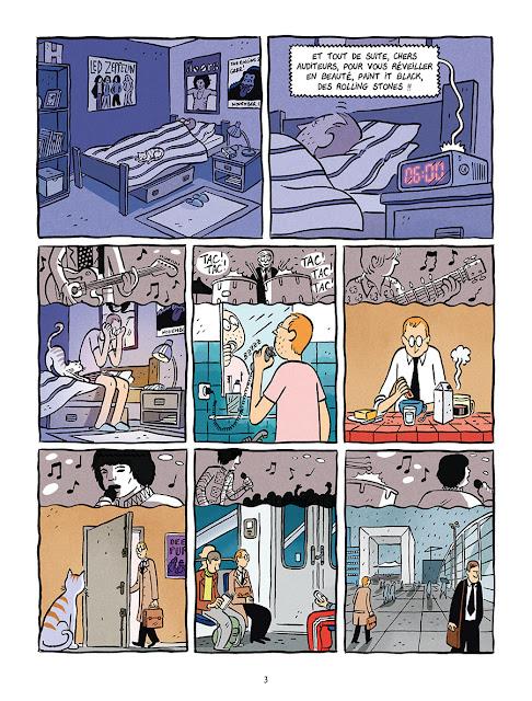 """page extraite de """"Les Deux Vies de Baudouin"""" par Fabien Toulmé chez Delcourt"""