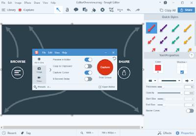 تحميل برنامج سناجيت كامل لتصوير سطح المكتب أحدث إصدار | Techsmith Snagit 2018 Full 2.PNG