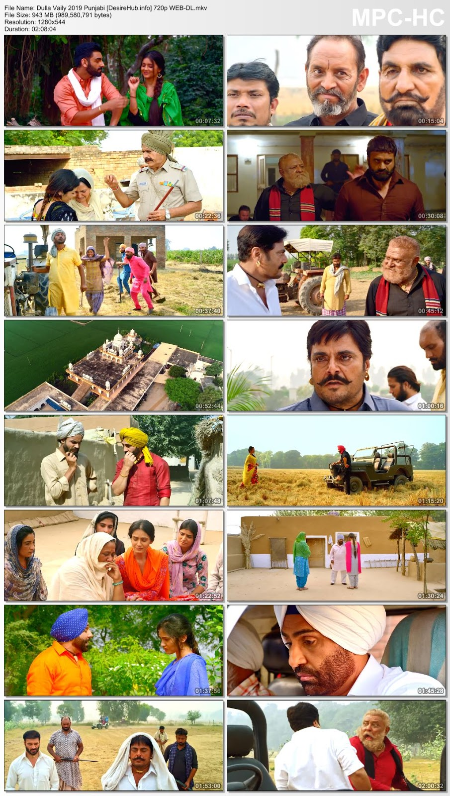 Dulla Vaily 2019 Punjabi 480p WEB-DL 350MB Desirehub