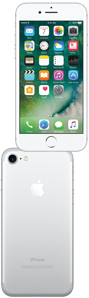 Target Apple iPhone 7 128GB - shown in silver