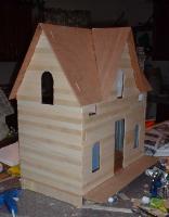 Custom Styled Dollhouse Kits Arthur Dollhouse Kit Outlets