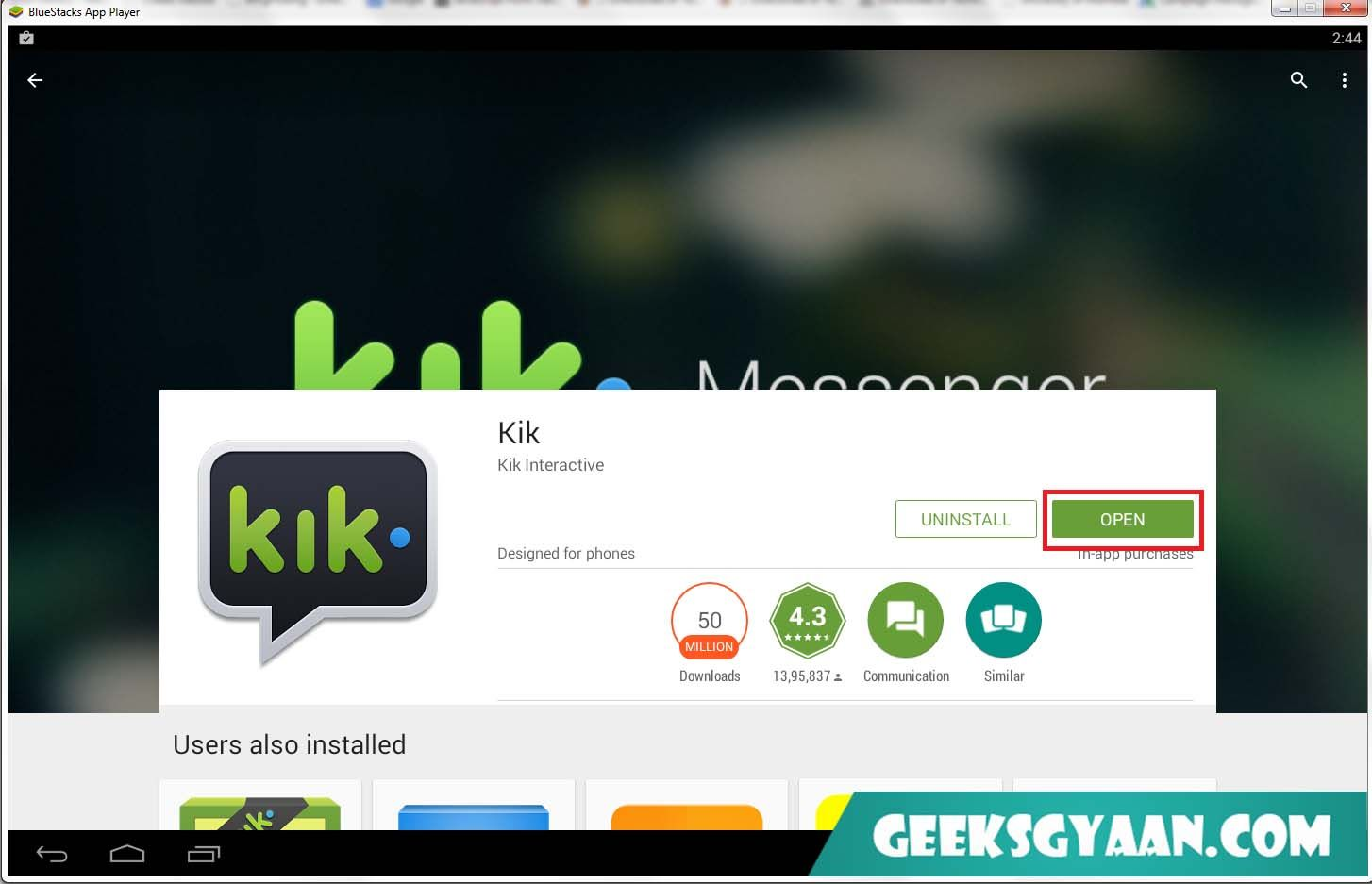 how do i download kik on my pc