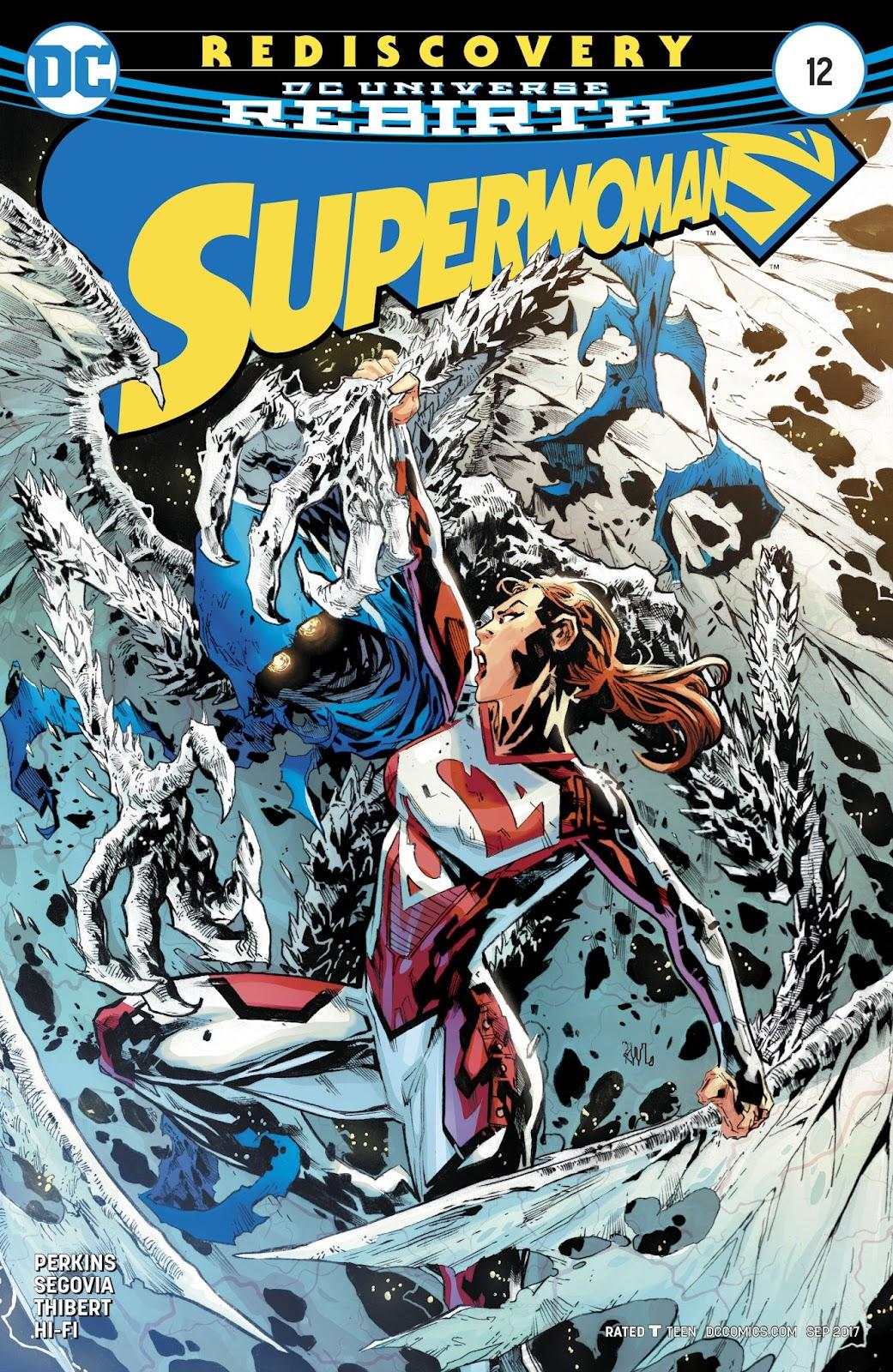 Read online Superwoman comic -  Issue #12 - 1