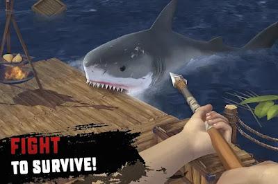 RAFT: Original Survival Game v1.38 + Mod (Unlimited Food and Water) Offline