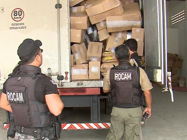 Dez toneladas de medicamentos são roubadas em Goiana