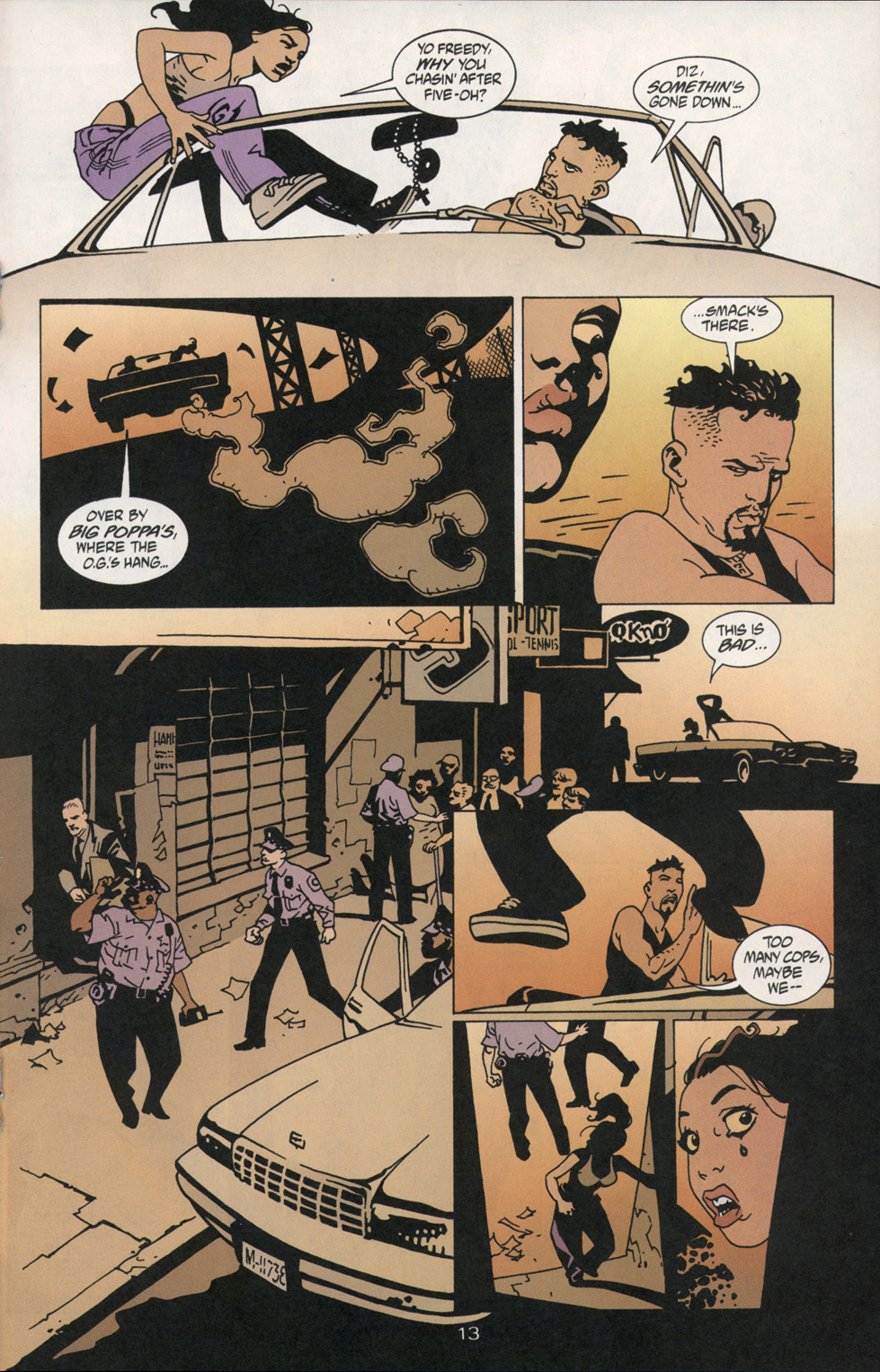 Read online 100 Bullets comic -  Issue #2 - 14
