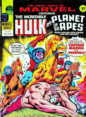 Mighty World of Marvel #233, Planet of the Apes