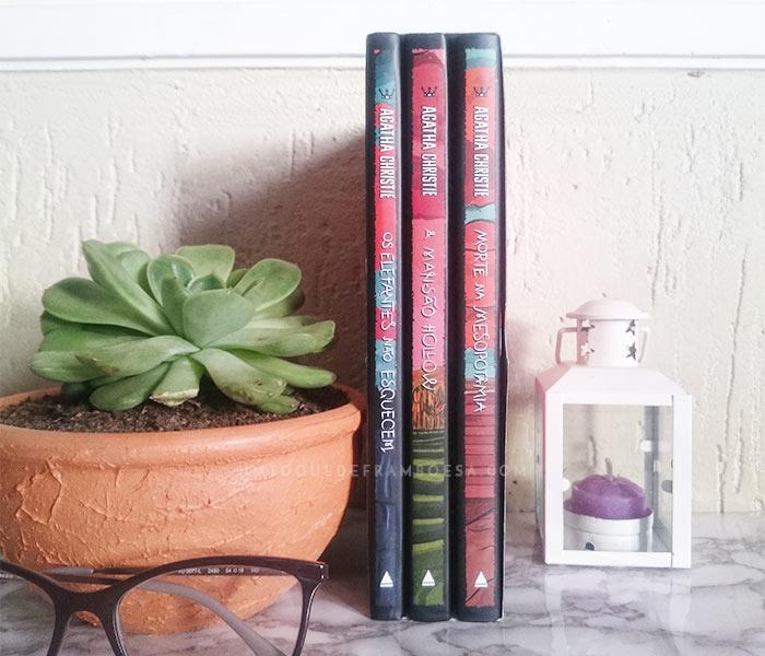 Resenha de livro e Box 02 Coleção Agatha Christie