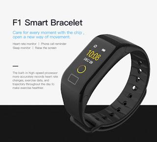 smart braccialetto f1 plus