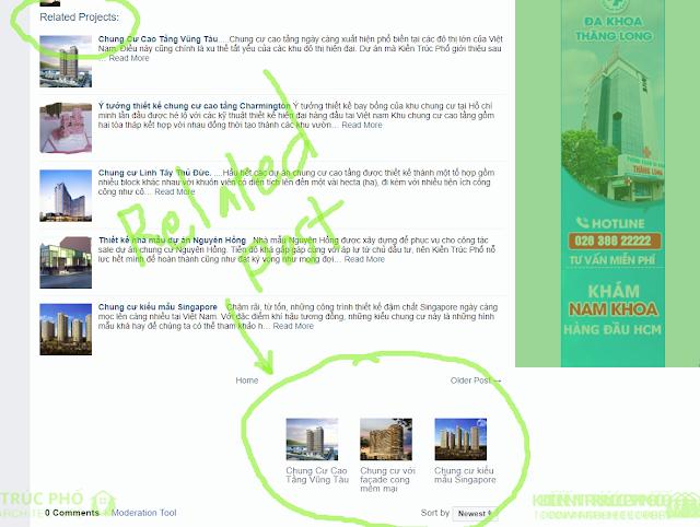 Cách tạo related post với ảnh thumbnail sau mỗi bài post trên blogger