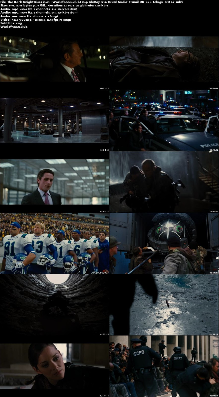 The Dark Knight Rises 2012 world4free.ind.in Dual Audio BRRip 720p Tamil Telugu
